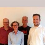 Der neue Fraktionsvorstand v.l.n.r.: Herbert Richter, Antje Esser, Ludwig Daikeler und der neue Fraktionsvorsitzende Ulrich Schäufele